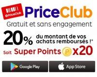 PriceMinister: 20% de vos achats remboursés en commandant sur les applications mobiles