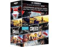 Amazon: Coffret Blu-ray 4K Batman v Superman, Mad Max, Creed, San Andreas, Lego à 49€