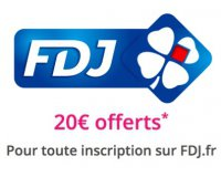 Showroomprive: 20€ offerts sur FDJ pour toute inscription accompagnée d'un 1er versement de 5€