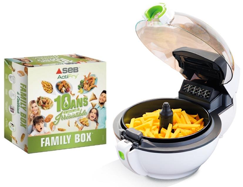1 Family box pour 1€ de plus pour tout achat d'une Friteuse ...