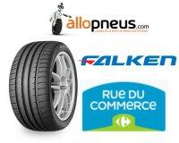 Allopneus: 2 pneus = 20€ & 4 pneus Falken achetés = 50€ offerts chez Rueducommerce.com