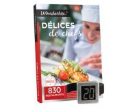 Wonderbox: 1 thermomètre à vin OFFERT pour l'achat d'un coffret de la gamme Gastronomie