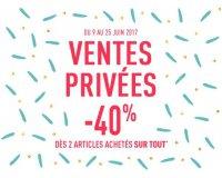 DIM: -40% dès 2 articles achetés sur tout le site pendant les ventes privées