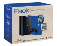 Fnac: Pack PS4 Pro 1To avec Horizon Zero Dawn + For Honor + Wipe Out Omega à 399,99€