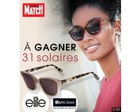 Paris Match: 31 paires de lunettes solaires Elite à gagner