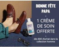 Eram: 1 crème de soin offerte dès 80€ d'achat dans la collection homme