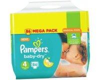 Carrefour: -50% en remise fidélité sur les couches PAMPERS - CHANGES BABY DRY