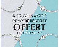 Pandora: Jusqu'a 50% de réduction sur votre bracelet + surprise offerte dès 89€ d'achat