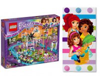 King Jouet: 1 serviette de plage LEGO Friends offerte dès 25€ d'achat de LEGO Friends