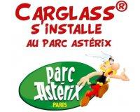 Carglass: Parking offert + 10€ en BON REPAS pour 1 intervention vitrage au Parc Astérix