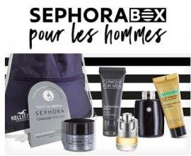 Sephora: 6 minis produits pour Homme et un sac Hollister offerts dès 80€ d'achats