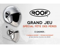 Motoblouz: Deux casques moto Roof et 10 autres accessoires Roof à gagner par tirage au sort
