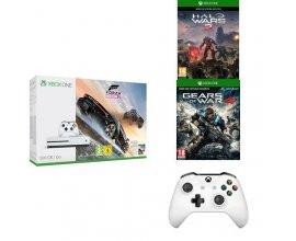 Amazon: Xbox One S 500 Go + Forza Horizon 3 + Halo Wars 2 + Gears of War 4 + 2e manette