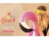 Cosmoparis: [Beach Party] Jusqu'à -50% sur une sélection de chaussures et d'accessoires