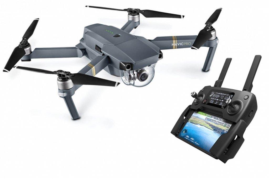 Code promo Amazon : Drone Quadricoptère DJI Mavic Pro avec caméra 4K + radiocommande à 799,99€