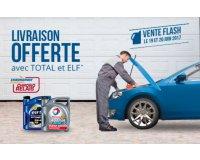 Oscaro: Livraison offerte pour tout bidon d'huile moteur des marques Total et Elf acheté
