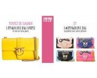 Grazia: 4 sacs Pinko Love Bag Simply & 1 sac #IPinkoLove Bag à gagner