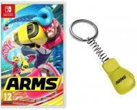Micromania: 1 porte-clefs offert pour les premiers acheteurs du jeu Arms sur Nintendo Switch
