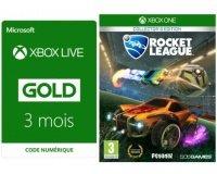 Micromania: 1 abonnement Xbox Live de 3 mois acheté = le jeu Rocket League offert