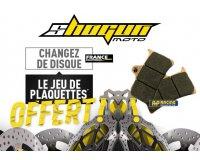 Shogunmoto: Un disque de frein acheté = des nouvelles plaquettes de frein offertes