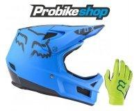 Probikeshop: 1 casque Fox Rampage acheté = 1 paire de gants Fox Flexair offerte