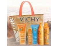 Vichy: Votre sac de plage offert pour 2 produits solaires Vichy achetés