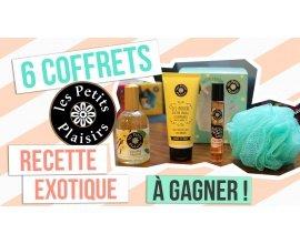 """Rose Carpet: 6 coffrets """"Recette Exotique"""" de Les Petits Plaisirs à gagner"""