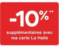 La Halle: - 10% supplémentaires sur les soldes pour les titulaires de la carte La Halle