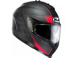 casque hjc is 17 mission noir gris ou noir rouge en soldes 189 90 dafy moto. Black Bedroom Furniture Sets. Home Design Ideas