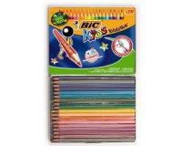 Cultura: Boîte de 18 crayons de couleur Kids Evolution de Bic à 2,34€