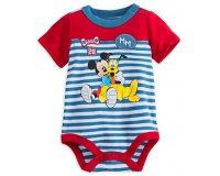 Disney Store: Le body Mickey et Pluto en coton bio en soldes à 9,10 € au lieu de 13 €