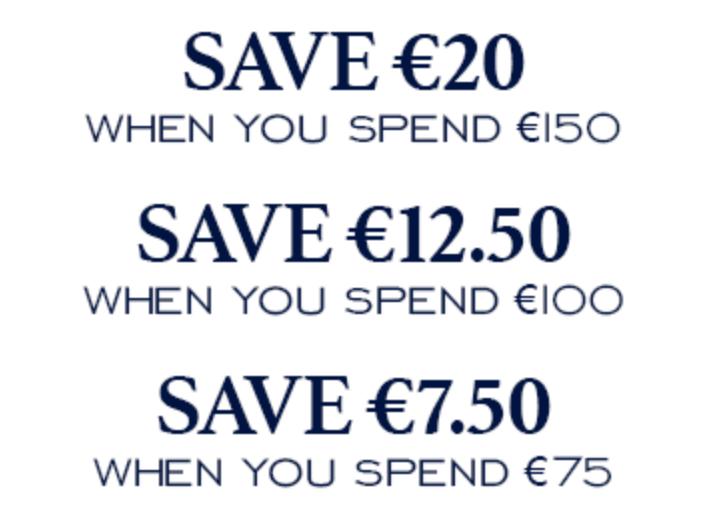 Code promo Charles Tyrwhitt : -7,50€ dès 75€, -12,50€ dès 100€ & 20€ offerts à partir 150€ d'achat