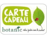 Botanic: Jusqu'à 16% de remise sur les cartes cadeaux Botanic