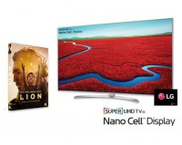 Femme Actuelle: 1 TV SUPER UHD 4K de LG d'une valeur de 1300€, 15 DVD du film LION à gagner