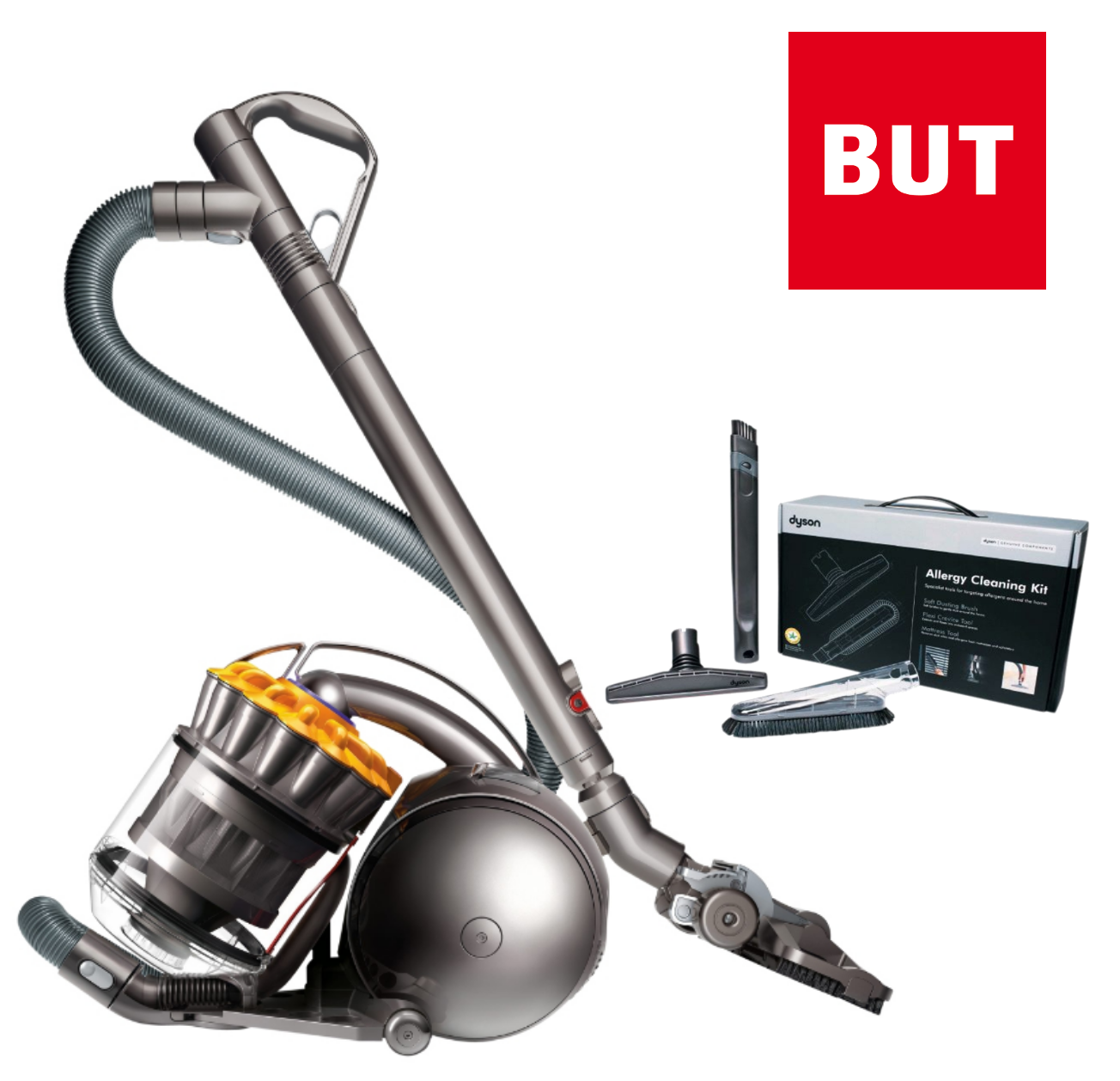 aspirateur dyson dc33c allergy kit en soldes 299 99 au lieu de 399 99 but. Black Bedroom Furniture Sets. Home Design Ideas