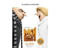 """NRJ: 5 lots de 2 places de cinéma pour """"Moi, moche et méchant 3"""" à gagner"""
