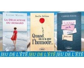 Prima: 20 lots de 3 romans des Éditions Michel Lafon à gagner