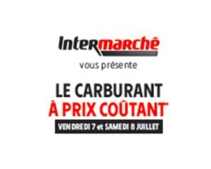 carburant prix co tant le vendredi 6 et samedi 7 juillet intermarch. Black Bedroom Furniture Sets. Home Design Ideas