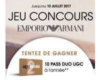 Sephora: 10 cartes UGC illimité Duo (cinéma à volonté) à gagner