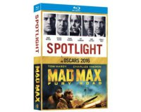 Fnac: Coffret Blu-ray Oscars 2016 2 films Spotlight et Mad Max Mad Fury à 6,99€