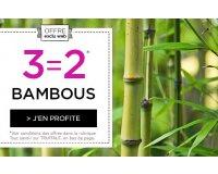 Truffaut: 1 bambou offert en plus pour l'achat de 2