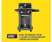 Darty: 200€ de remise immédiate sur les barbecues Weber