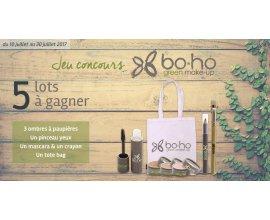 Doctipharma: 5 lots de la marque Boho Green Make-up d'une valeur de 50€ à gagner