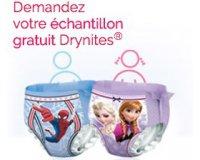 Drynites: 1 échantillon gratuit de sous-vêtements de nuit jetables DryNites