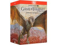 Amazon: Coffret Blu-ray Game of Thrones - L'intégrale des saisons 1 à 6 à 49,99€