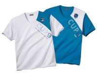 Atlas for Men: Lot de 2 Tee-Shirts Cup 9 à 9€ au lieu de 30€