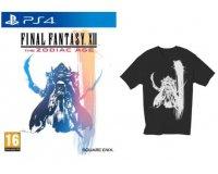 Fnac: Un t-shirt Final Fantasy offert pour l'achat du jeu FF XII The Zodiac Age PS4