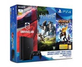 Amazon: PS4 Slim 1To + Horizon : Zero Dawn + Ratchet & Clank + Drive Club à 329,99€