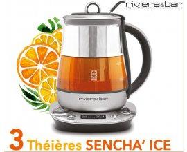Cuisine Actuelle: 3 théières Sencha'Ice de Riviera & Bar à gagner