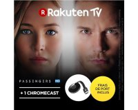 PriceMinister: 1 clé Chromecast + le film Passengers en location pendant 48h pour 22,99€